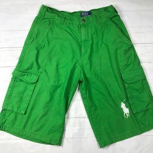 Polo Ralph Lauren Mens Cargo Shorts Extra Long Pon